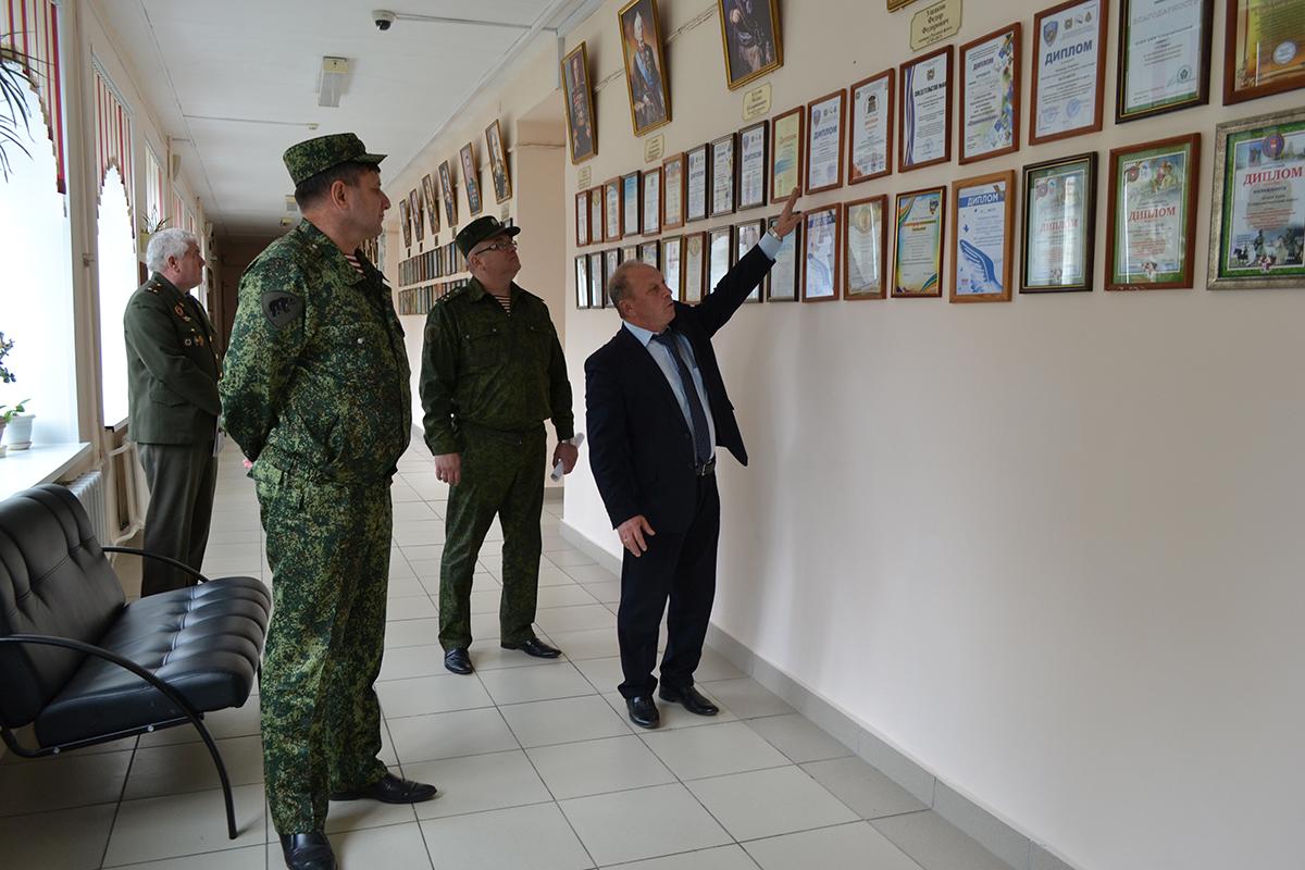 Подготовка кадетских классов войск национальной гвардии России