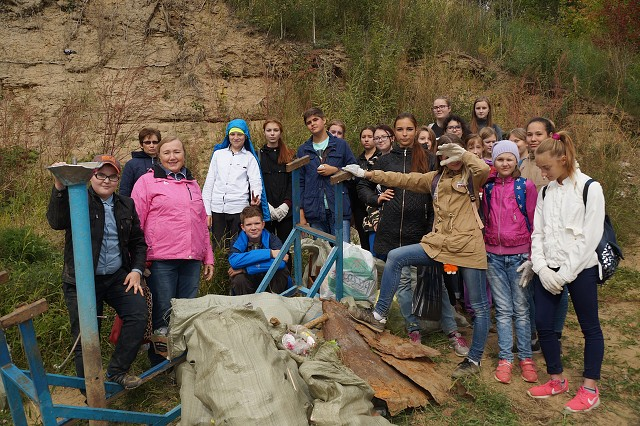 250 человек приняли участие в акции «Чистый берег»