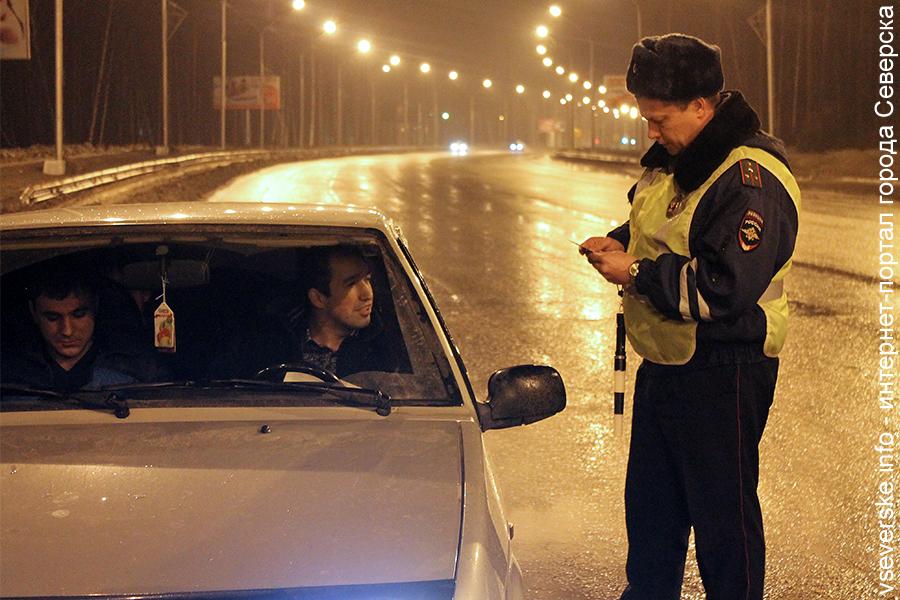 В выходные Госавтоинспекция будет проверять водителей на алкоголь