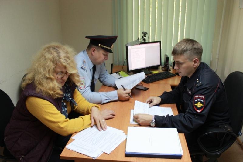 Представитель Общественного совета проверила работу участковых пунктов полиции