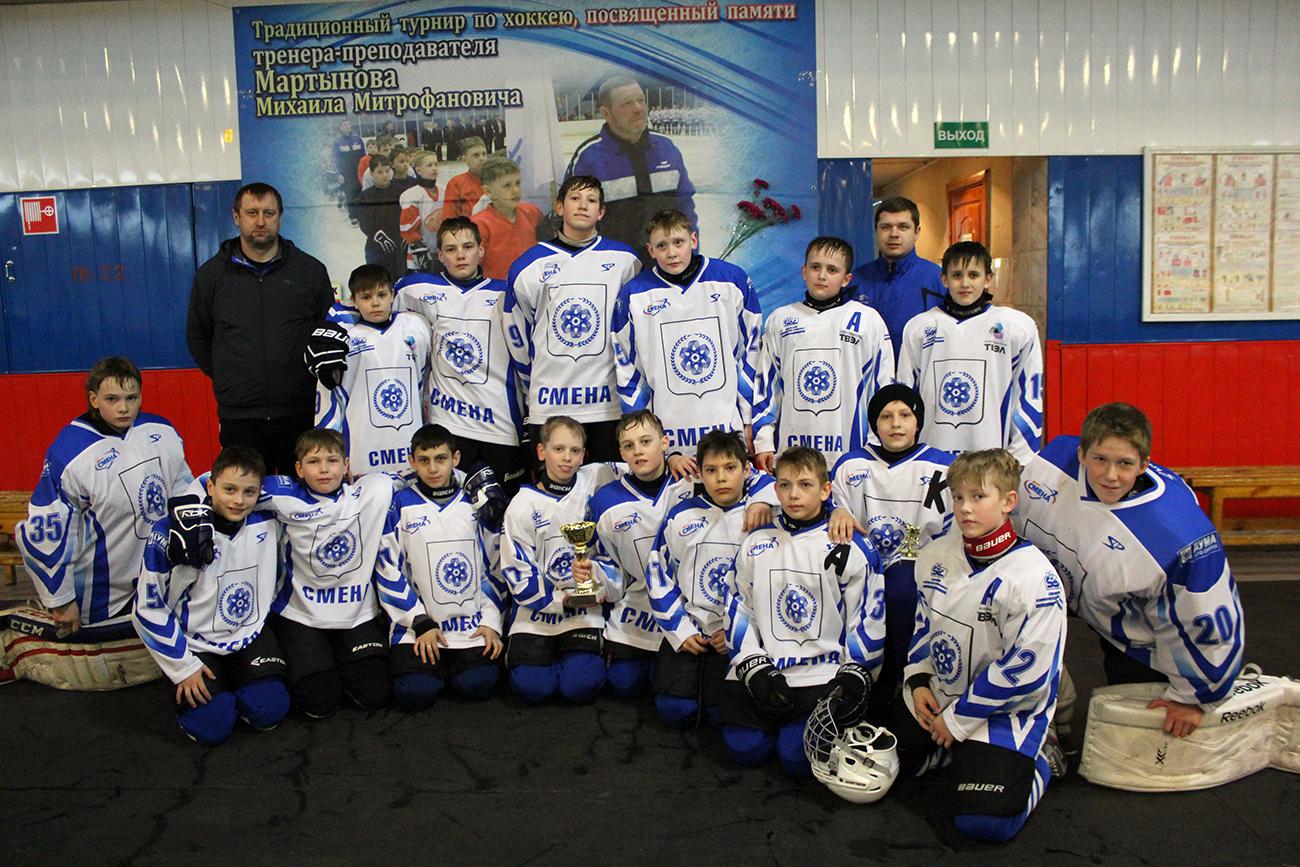 В Северске стартуют игры хоккейного турнира «Кубок Единения»