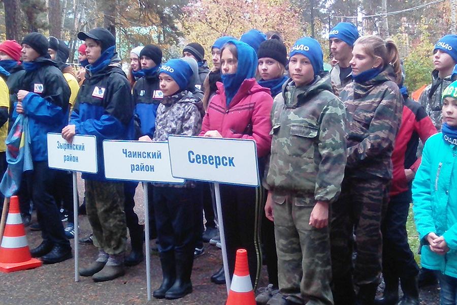 Северчане приняли участие в соревнованиях по туристским навыкам