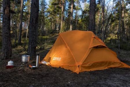 Сельчанин украл палатку у строителей ради спиртного