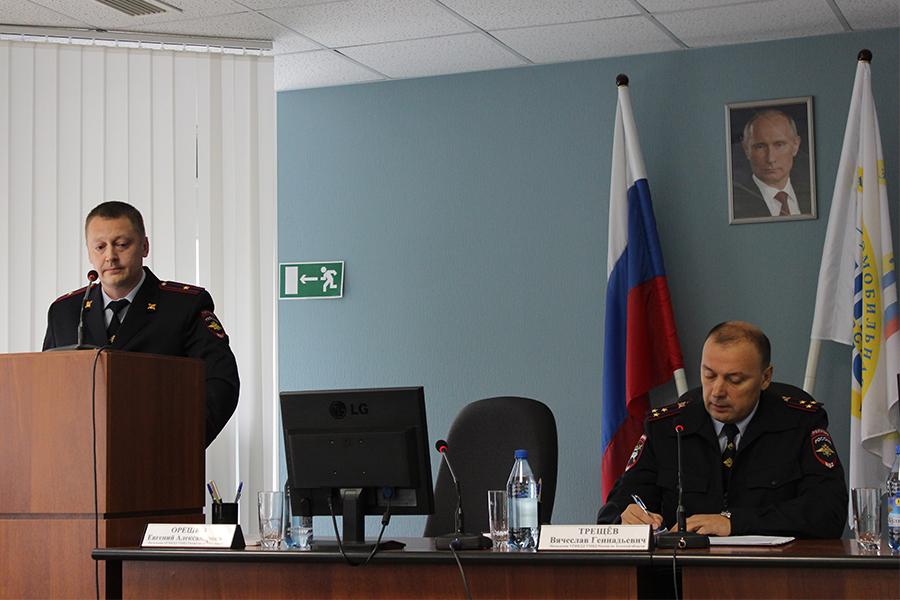 Руководитель областной Госавтоинспекции посетил Северск