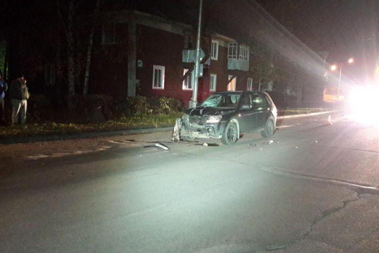 Мужчина сбил пешехода, переходившего дорогу вне «зебры»