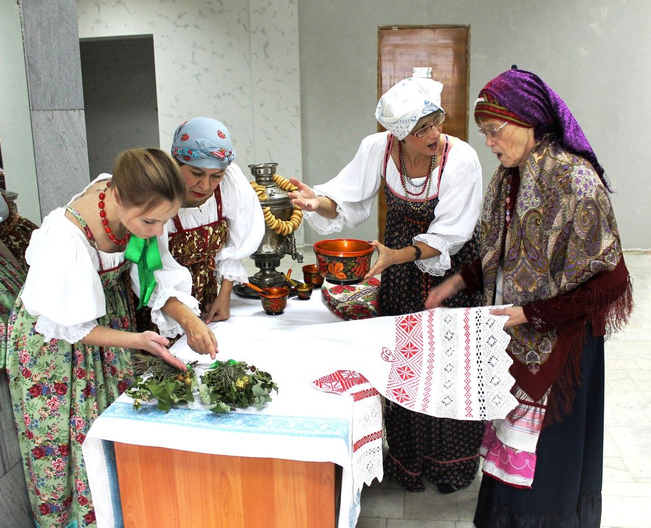 В музее состоялась первая свадьба по старинным русским обрядам