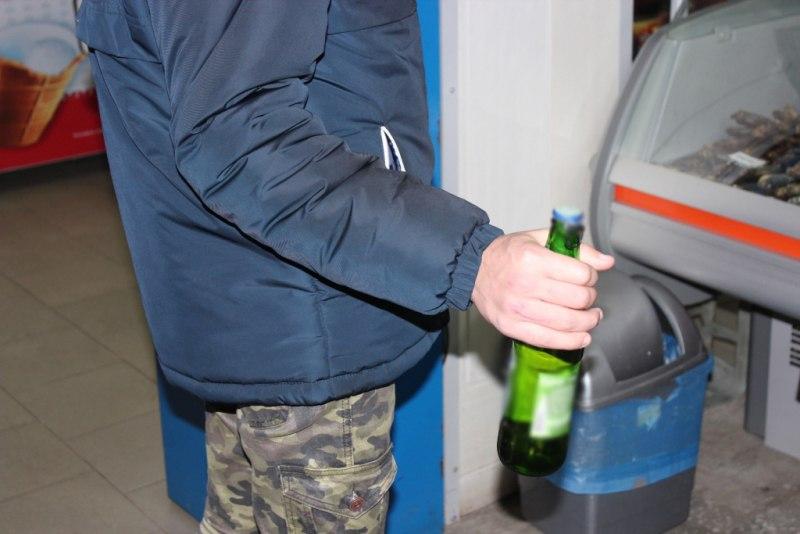 Полицейскими выявлен факт продажи алкогольной продукции 16-летнему юноше