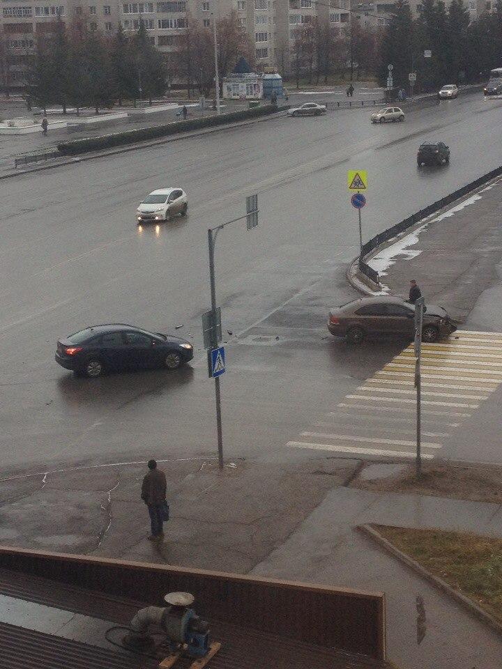 Авария на злополучном перекрестке