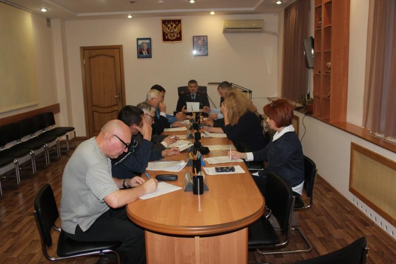 В УМВД России по ЗАТО Северск состоялось заседание Общественного совета