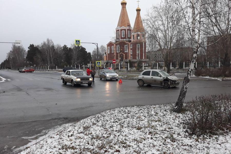 Пассажирка «Тойоты» пострадала в результате ДТП