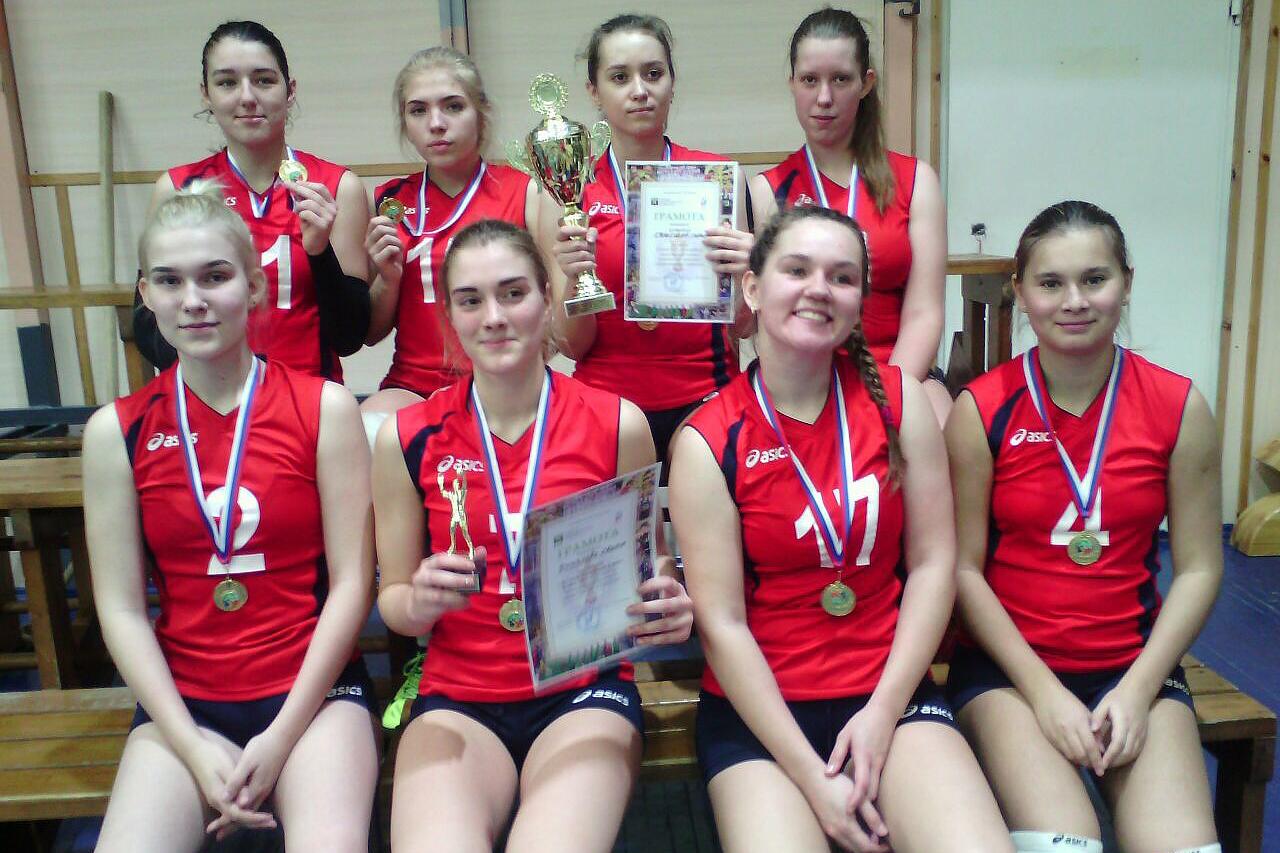 Северские волейболистки завоевали Кубок ТПУ