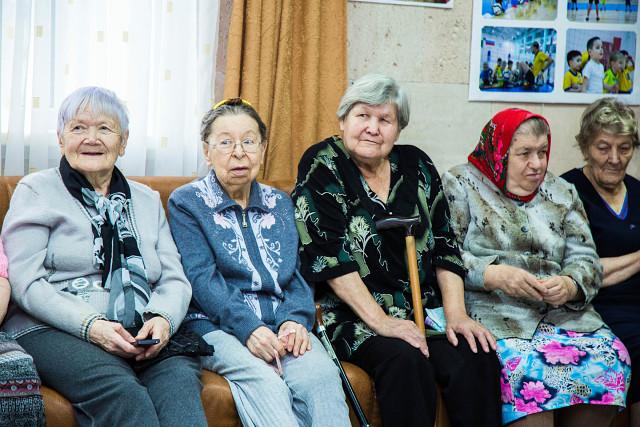 Благотворительный концерт «Мы вместе» в Доме престарелых «Виола»