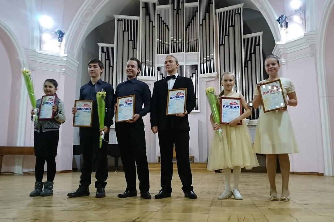 Ансамбль «Радуга» награжден специальным дипломом на конкурсе «Дети играют с оркестром»