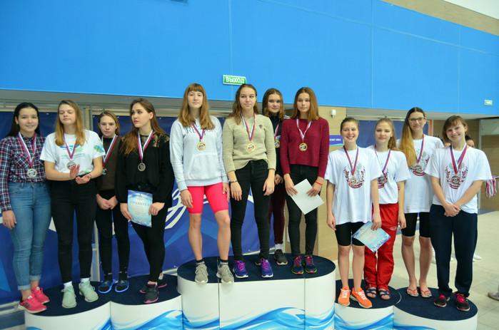 Успехи северских пловцов на Чемпионате области
