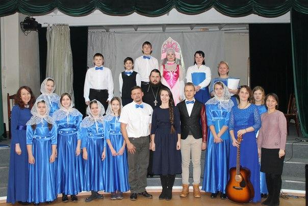 Подростки храма провели концерт в воспитательной колонии №2