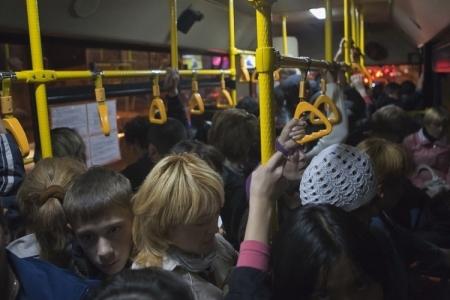 Неприятный инцидент в автобусе по маршруту № 400