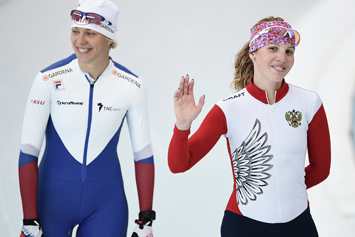 Александра Качуркина выполнила норматив Мастера спорта Международного класса