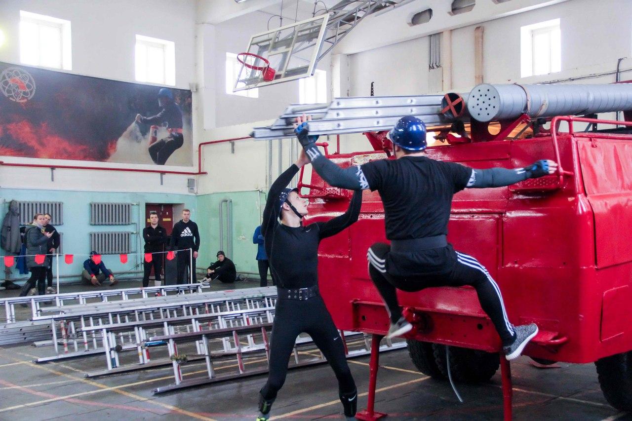 В Северске состоялся открытый чемпионат по пожарно-прикладному спорту