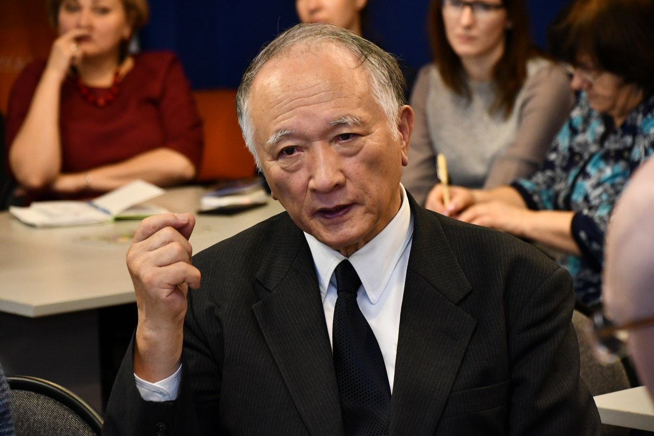 Ученые встретились с представителем японского бизнеса