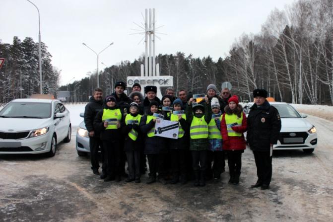 Водители такси совместно с ЮИД присоединились к всероссийской акции «Пристегнись, Россия!»