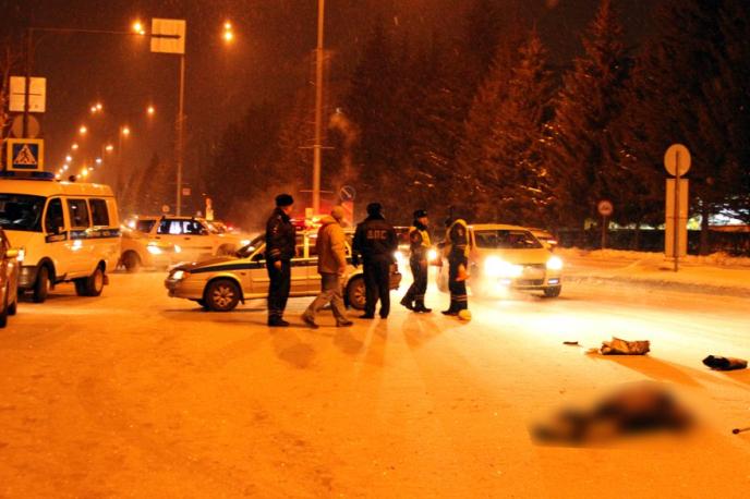 Автоледи насмерть сбила женщину на пешеходном переходе