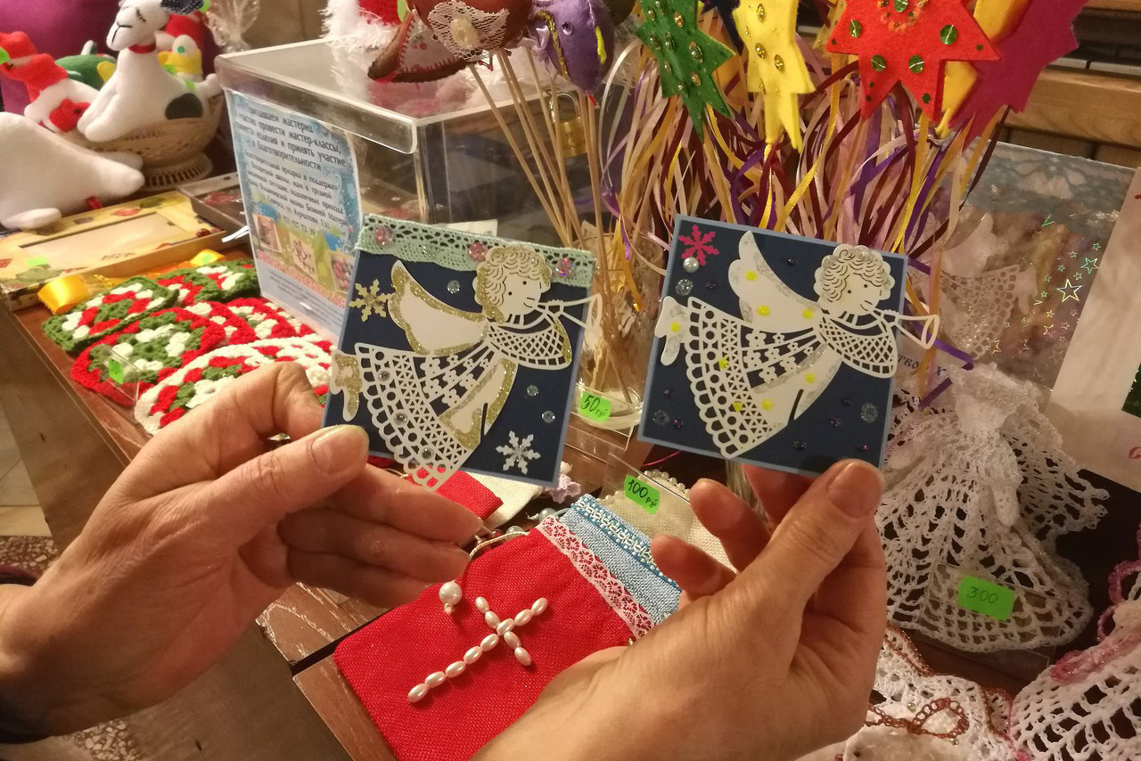 В Северске открылась рождественская ярмарка