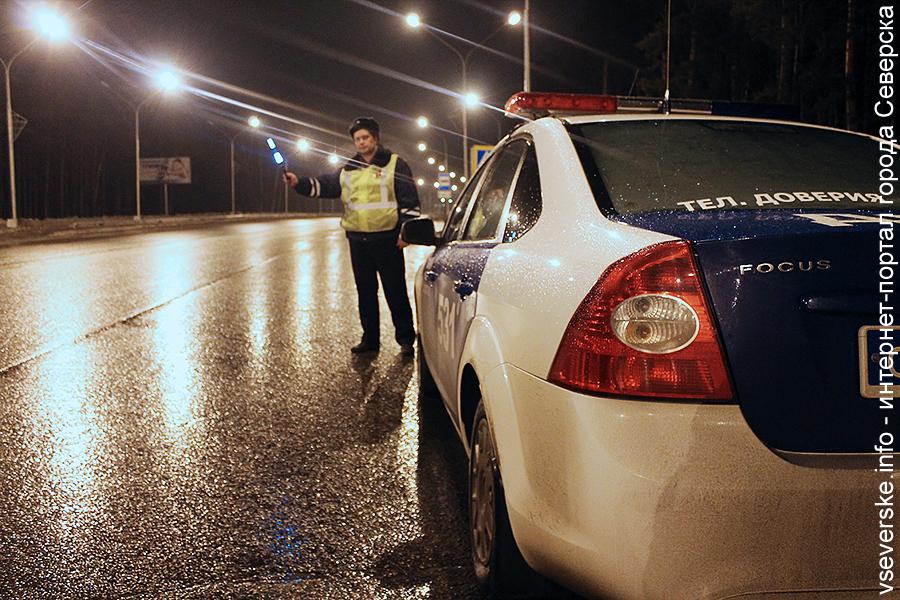 До конца года в городе ежедневно будут проводиться рейды «Нетрезвый водитель»