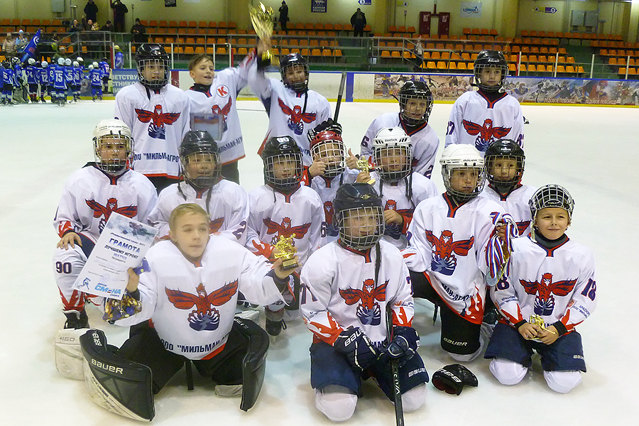 В Северске завершился хоккейный турнир юношей 2008 года рождения