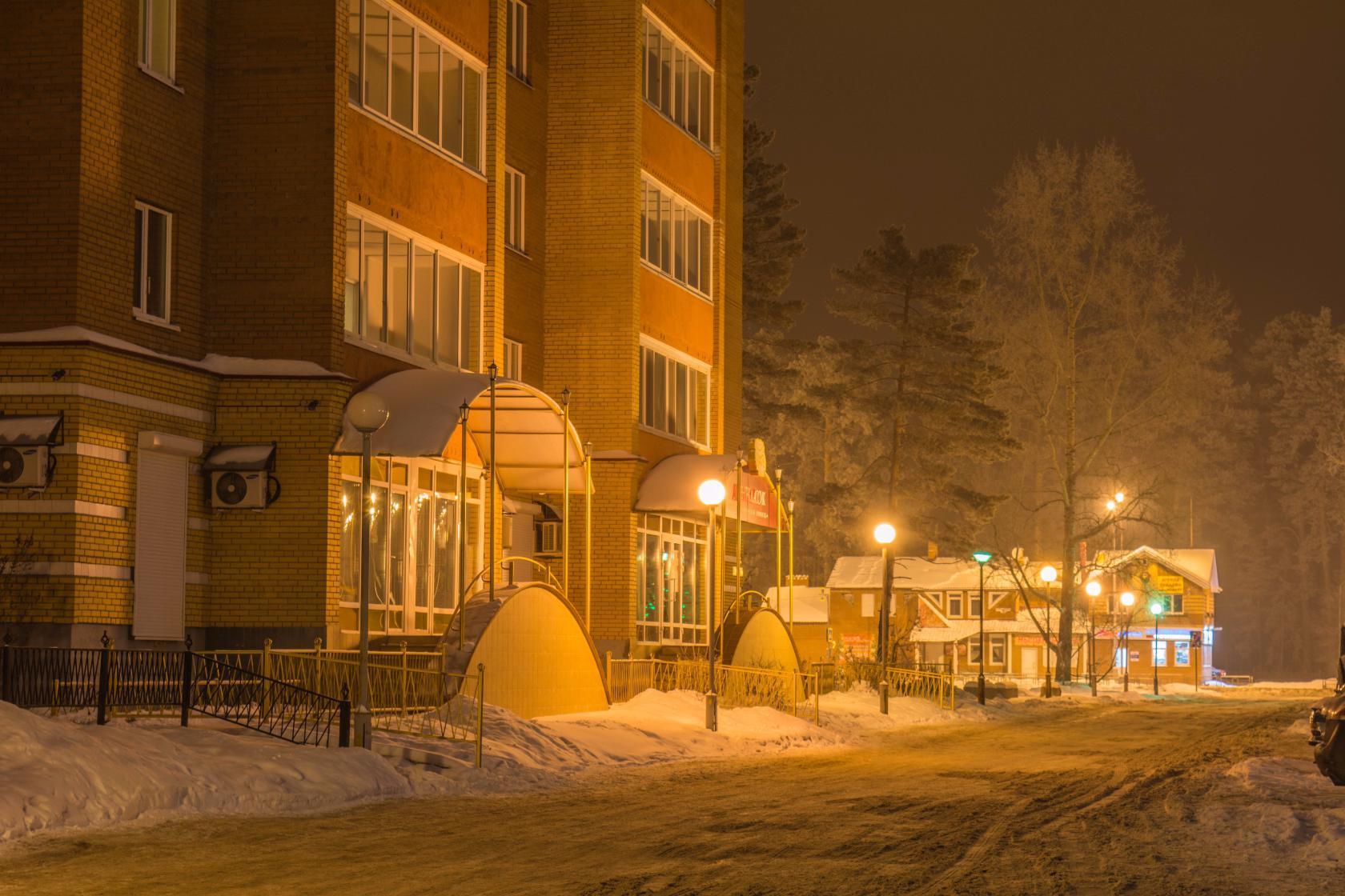 Фотографии зимнего города