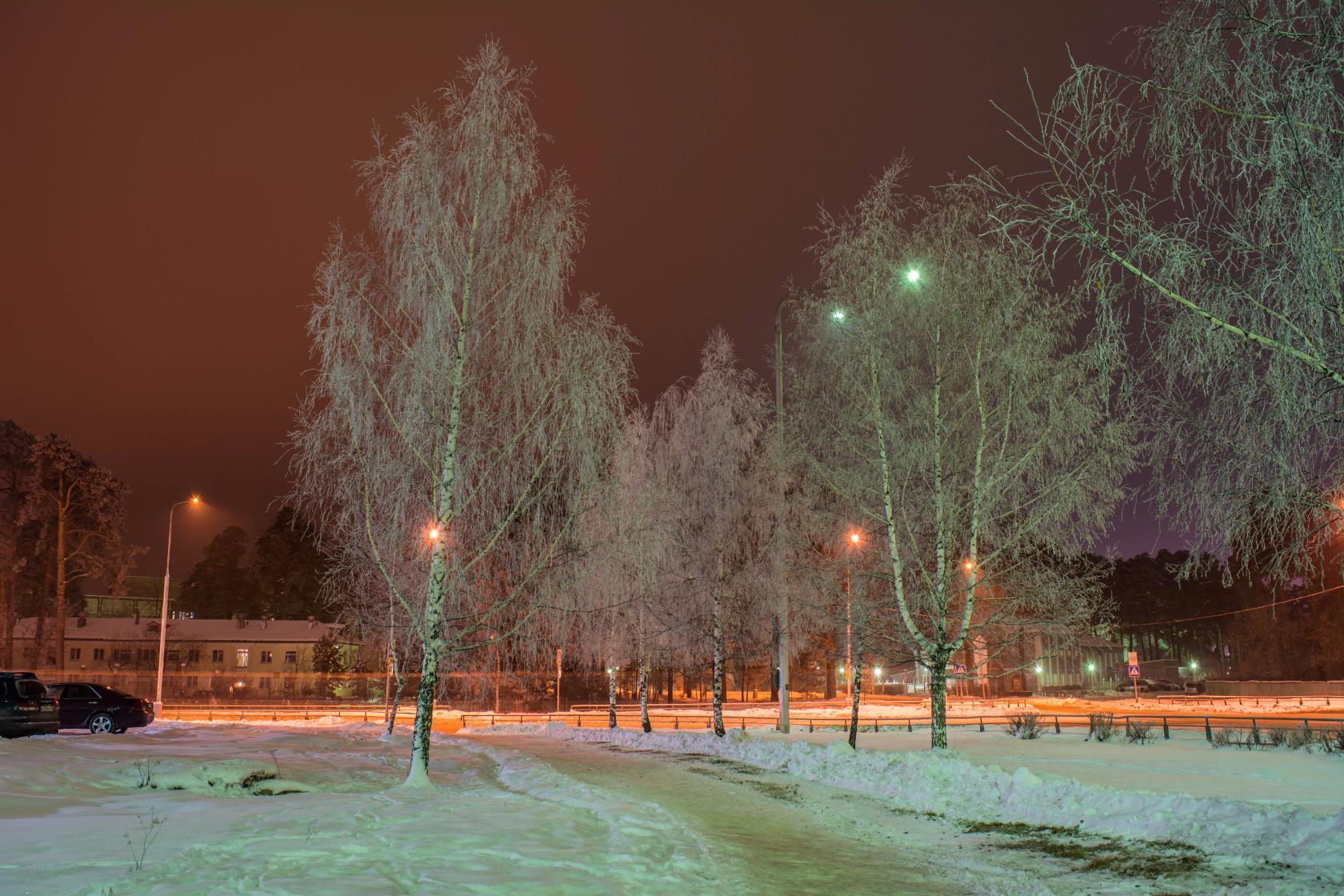 В новогоднюю ночь температура воздуха опустится до минус 25 градусов