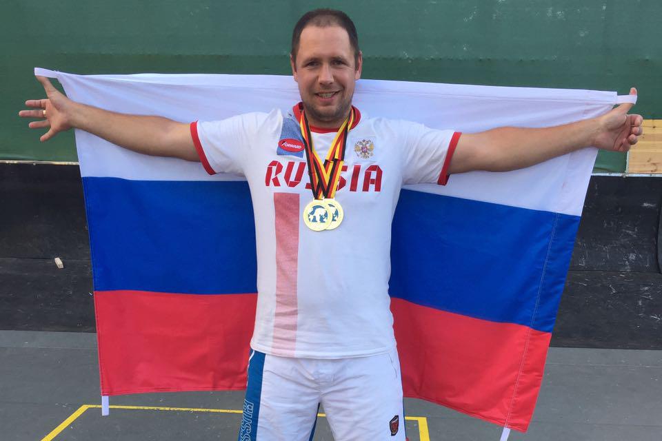 Рейтинг сильнейших городошников мира возглавил спортсмен из Северска
