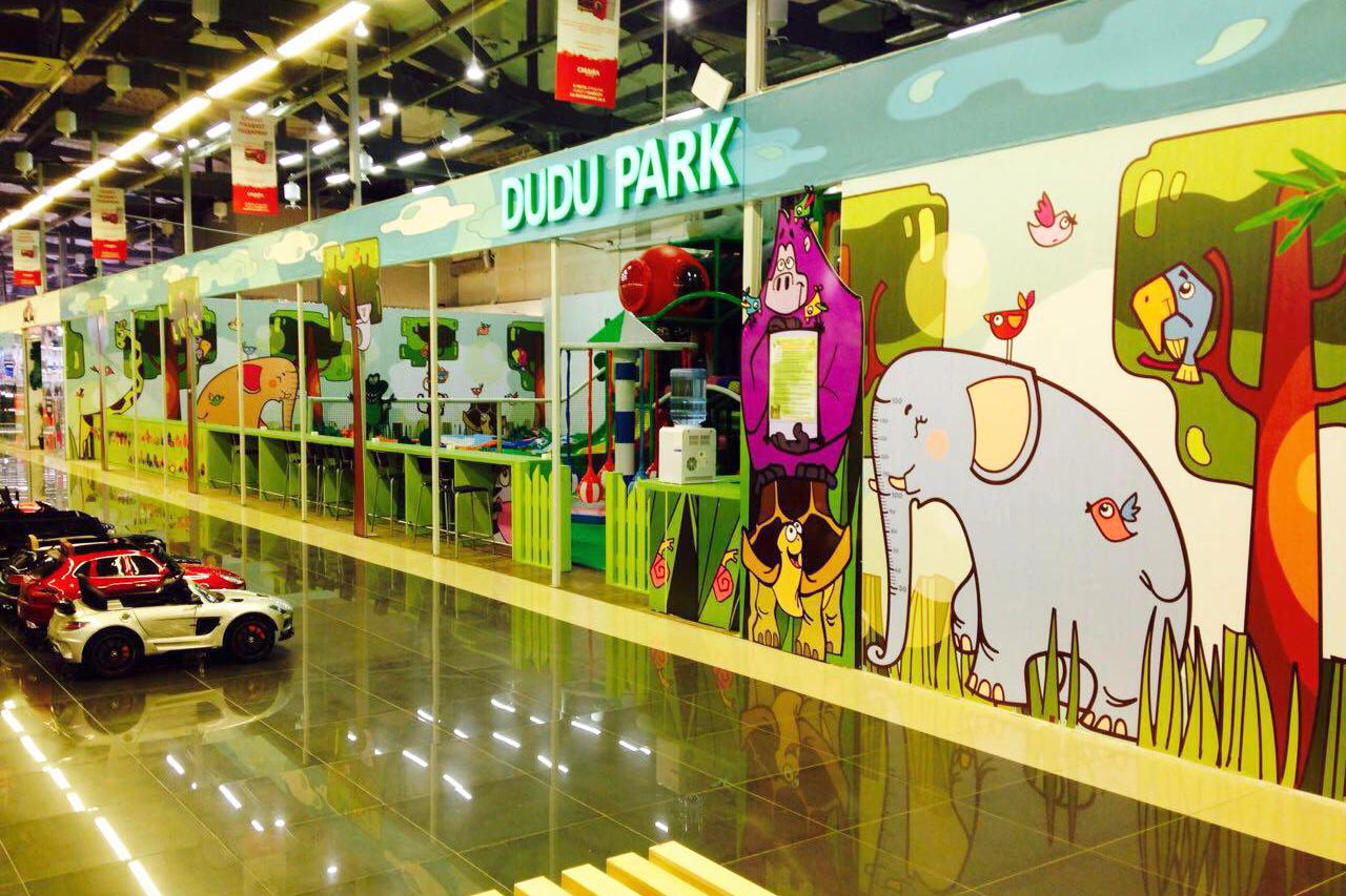 Новая детская игровая площадка DUDU PARK с 4-этажным лабиринтом