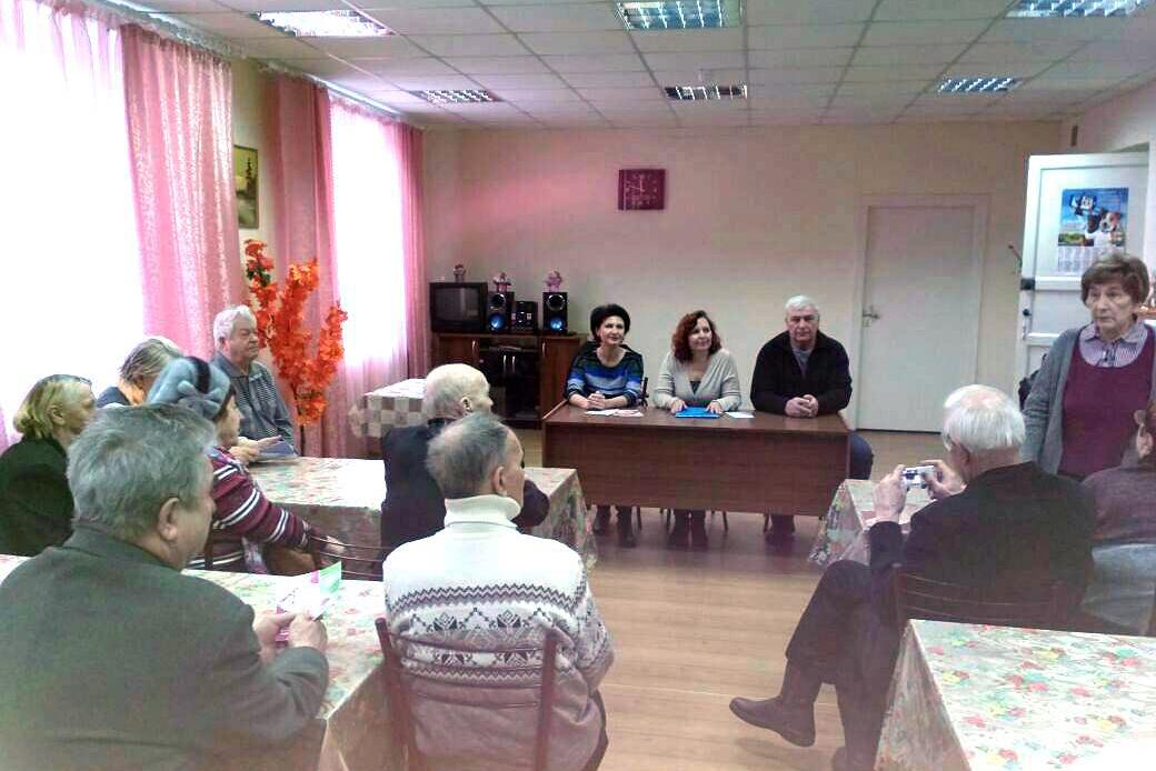 Управление Пенсионного фонда ЗАТО Северск активно взаимодействует с советом ветеранов СХК
