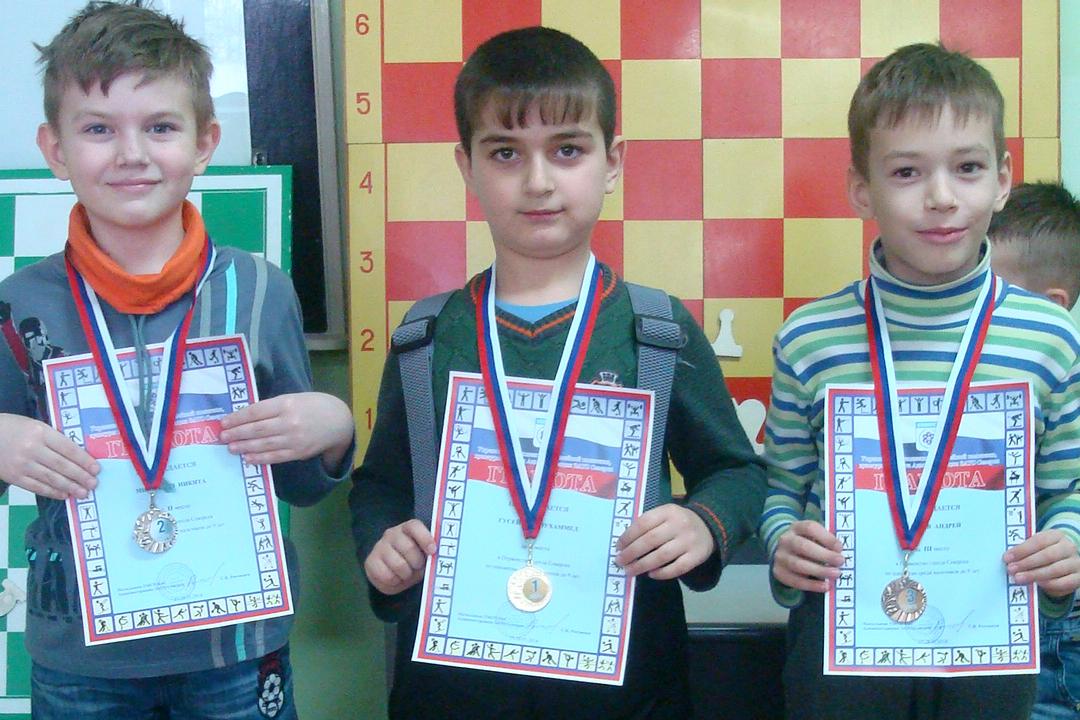 Юные шахматисты сразились на Первенстве города