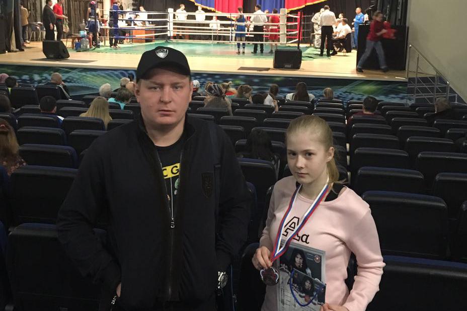 Успех юной северчанки на Первенстве СФО по боксу