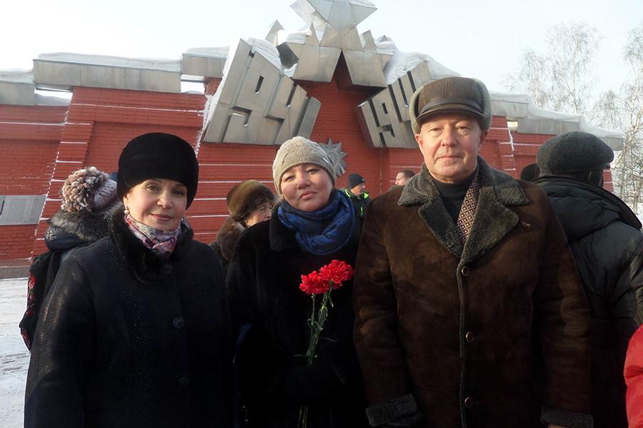 Специалисты Пенсионного фонда приняли участие в торжественном мероприятии, посвященном 75-летию победы в Сталинградской битве
