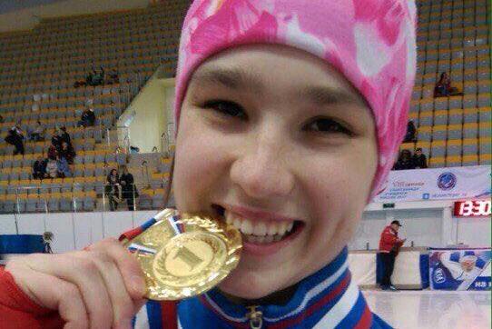 Успехи юных конькобежцев