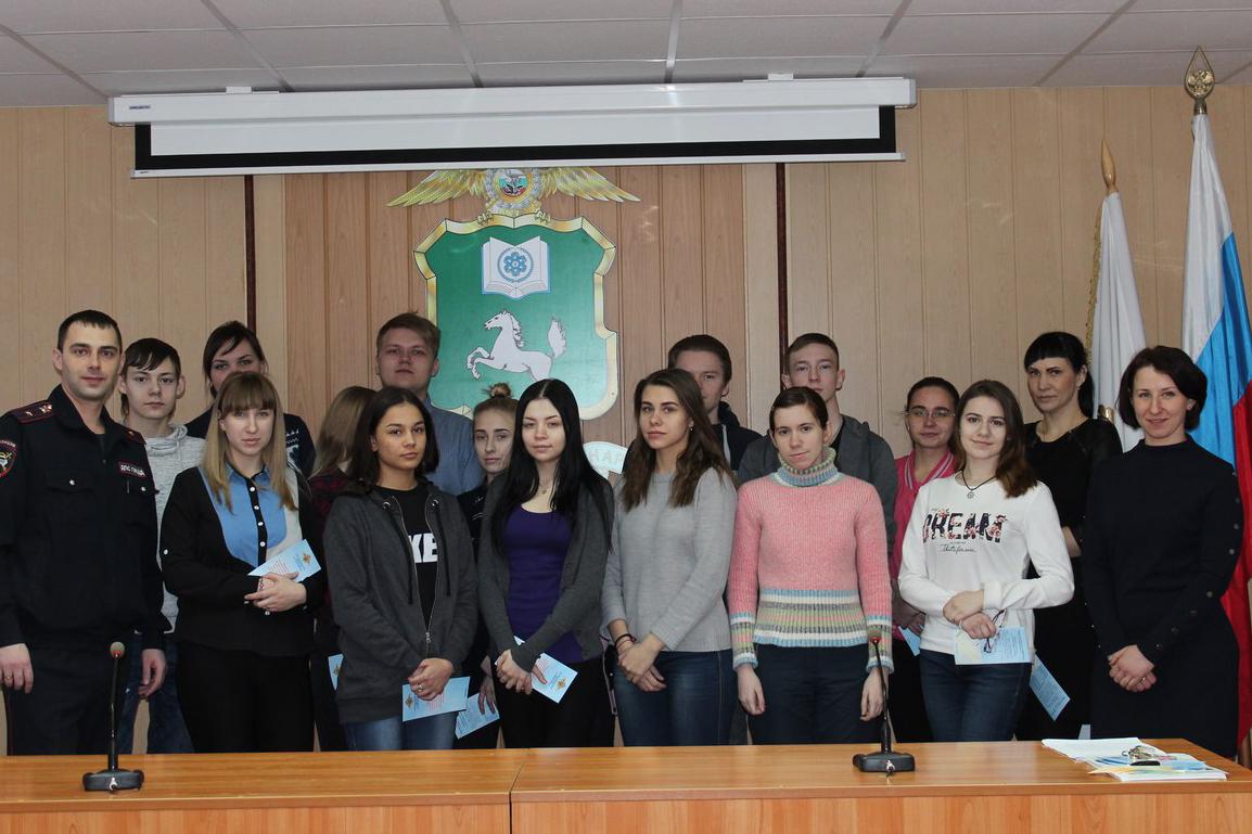 Студенты присоединились к Всероссийской акции «Студенческий десант»