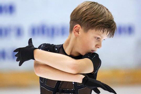Юный фигурист из Северска - лучший во всей Сибири!