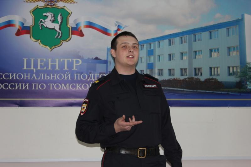 В Томске прошел творческих фестиваль молодых сотрудников полиции