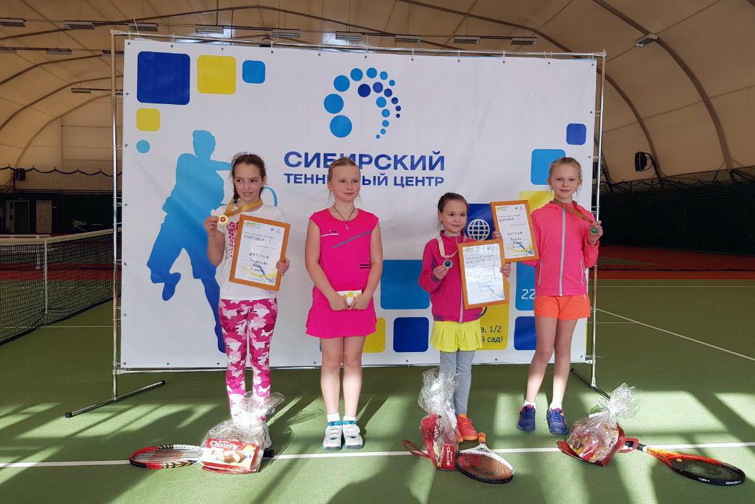 Успехи северских теннисистов