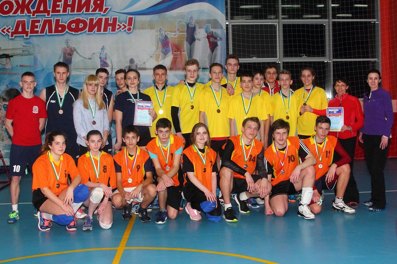 В Северске определили лучших волейболистов среди школьных команд