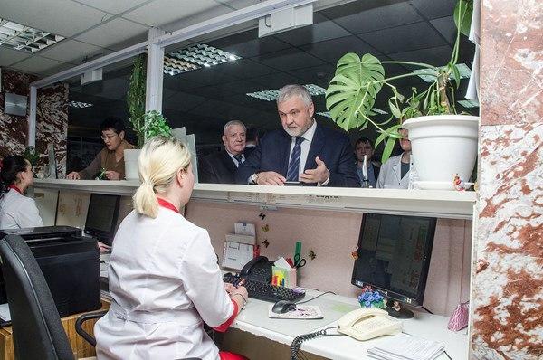 Руководитель ФМБА России Владимир Викторович Уйба посетил Томскую область с рабочим визитом