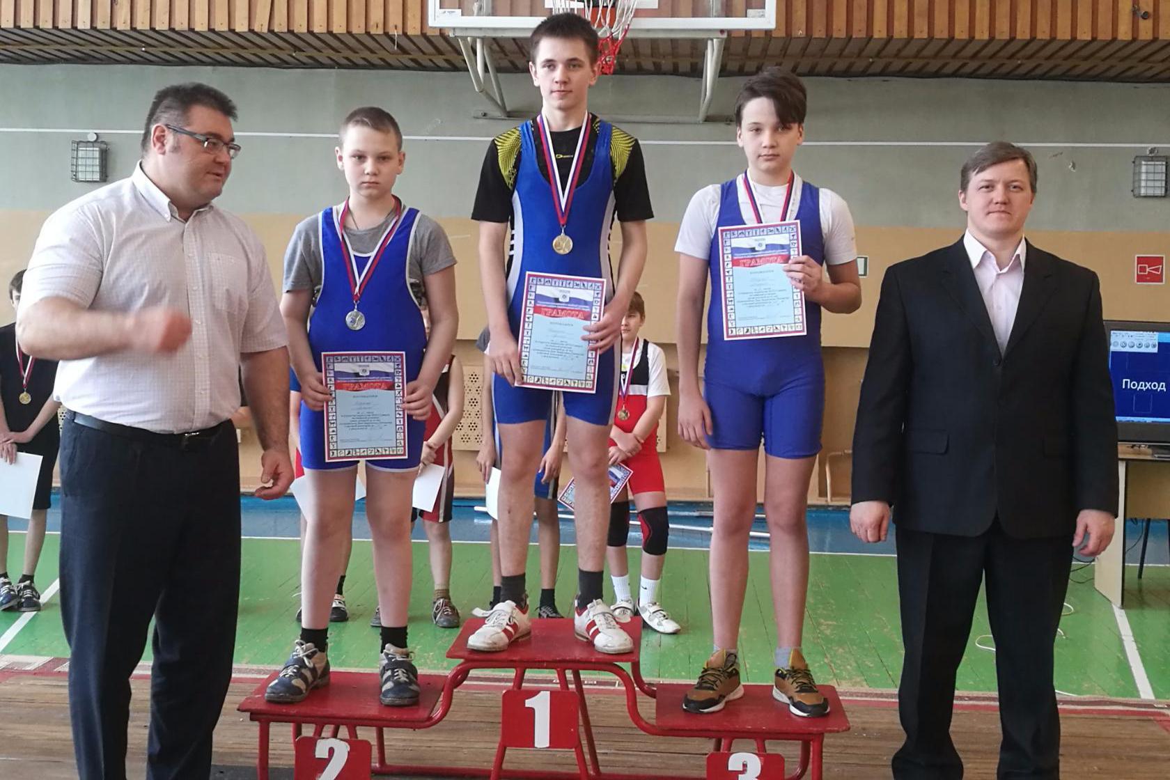Результаты Открытого первенства ЗАТО Северск по тяжёлой атлетике