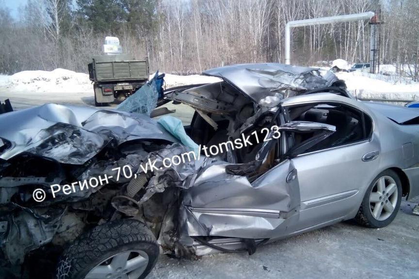 На автодороге № 12 произошло ДТП с участием шести автомобилей