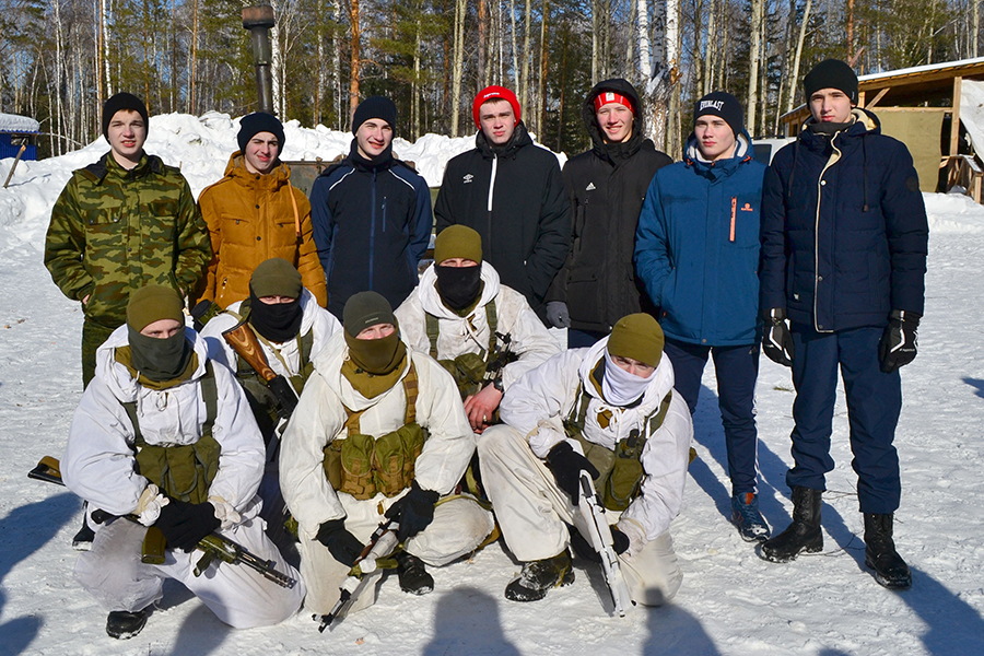 Лыжный переход «Победители»