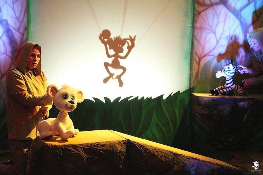 Сказка-игра для детей «Белый лев»