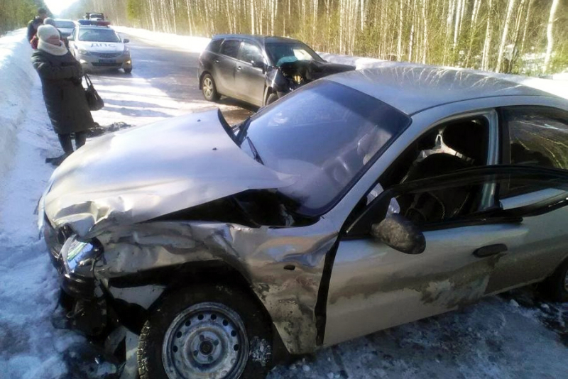 Женщина пострадала в ДТП на трассе Томск-Самусь