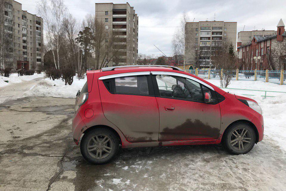 Пост о том, как не надо парковаться