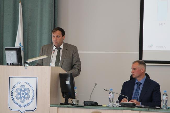 СХК представил перспективы развития депутатам Думы Северска